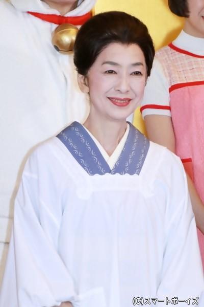 磯野フネ役の高橋恵子さん