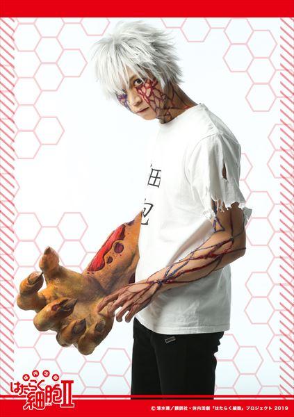 がん細胞役:山田ジェームス武さん