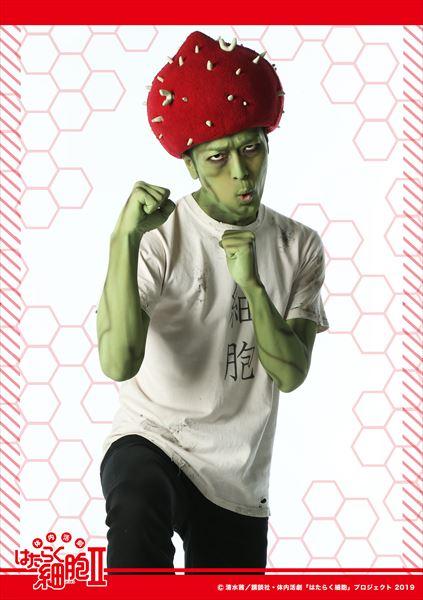 インフルエンザウイルス感染細胞役:髙木 俊さん