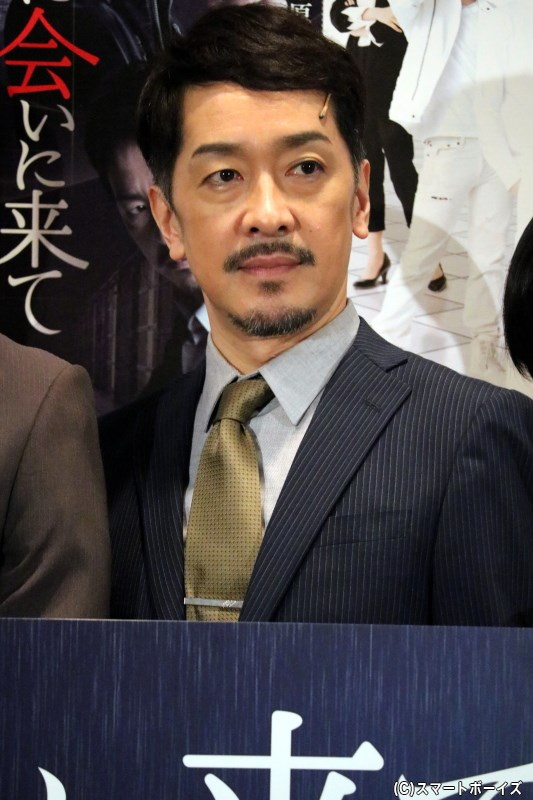 キム・セゴン課長役の栗原英雄さん