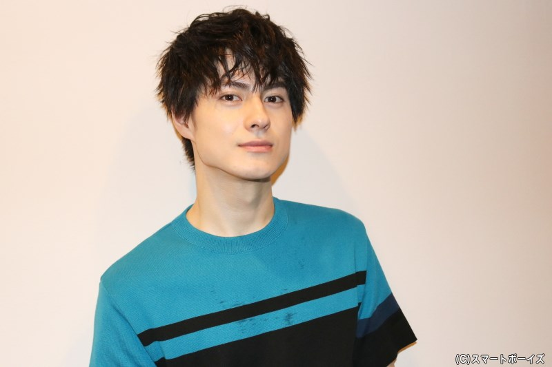 第1部終了直後、楽屋ではリラックスした表情を見せてくれた松村さん