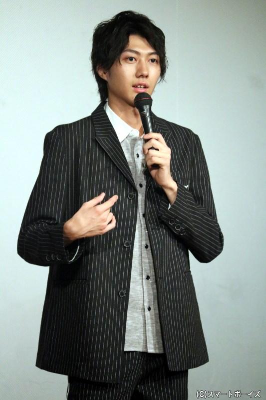 イベントの主役、7月5日で23歳になった小坂涼太郎さん
