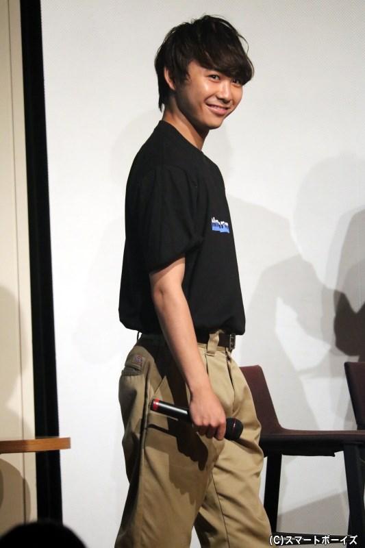 小坂さんが慕う先輩、須賀健太さんがゲスト登場