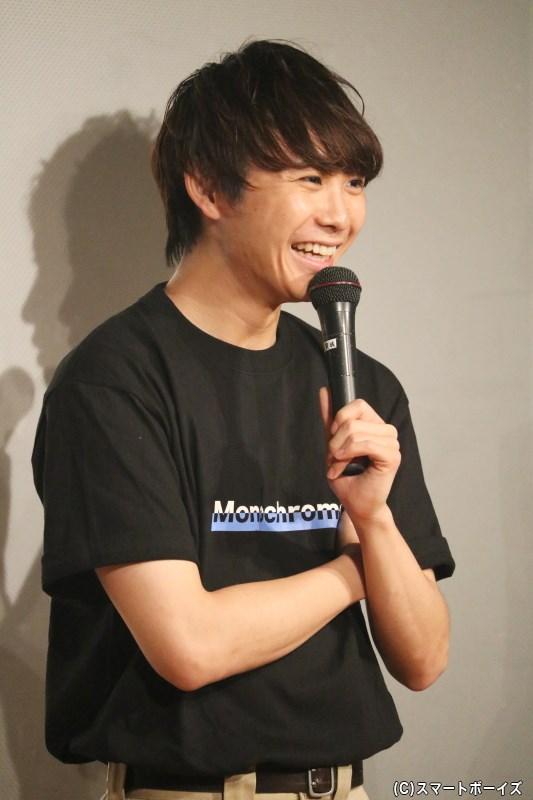 小坂さんの言葉に笑顔を見せていた須賀さん、その良き先輩ぶりも明らかに