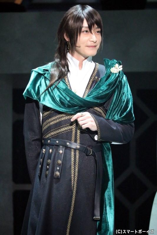 ナトゥーラ・イルディス 役:徳山秀典さん