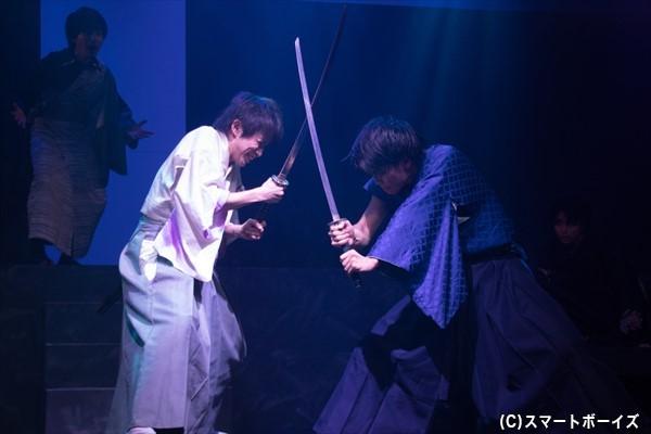 シノは、復讐心に囚われてしまうソウマと剣を交える……!