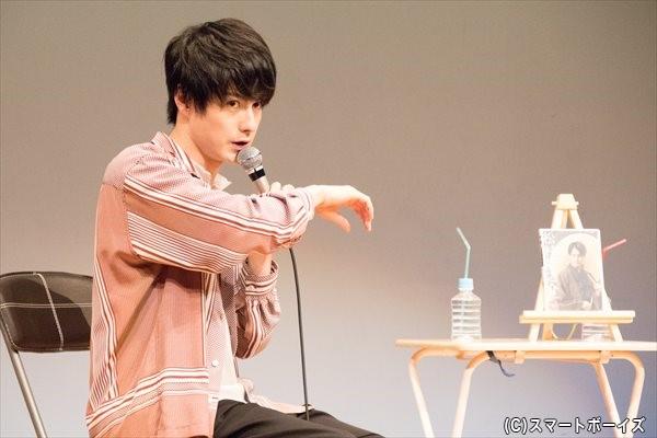 フェチをン熱弁する松村さん