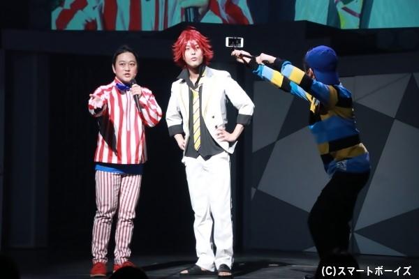 三期生キャストが日替わりゲストとして出演。公開ゲネプロでは日下部虎彦役の綾切拓也さんが登場!