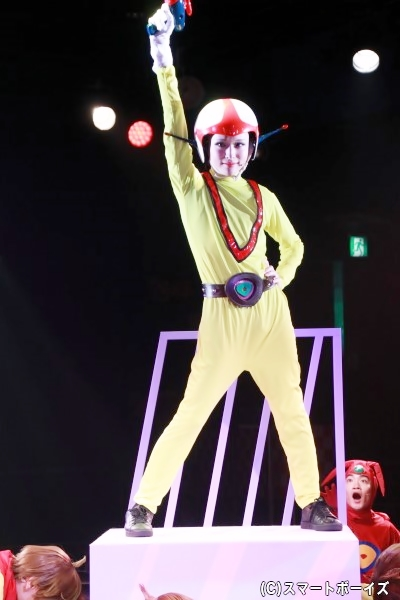 ゲネプロで「チャージマンドリーム」の1位に輝いた星元さんがチャージマン研役に!