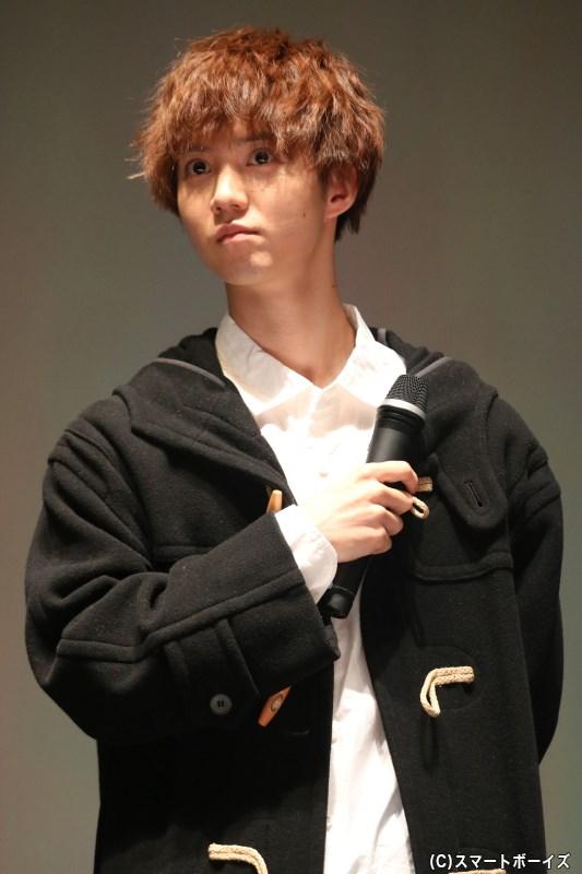 柳沢祐介役の小越勇輝さん