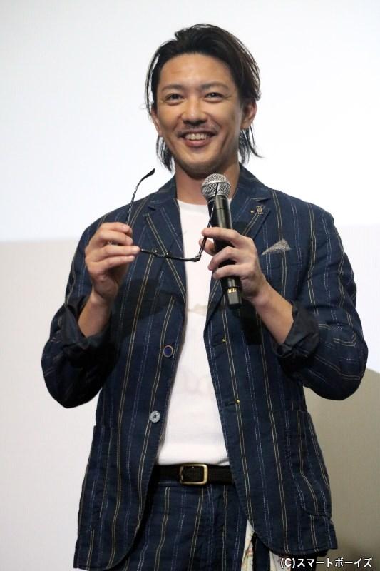 エイブラハム・D・ストーカー役の金子昇さん