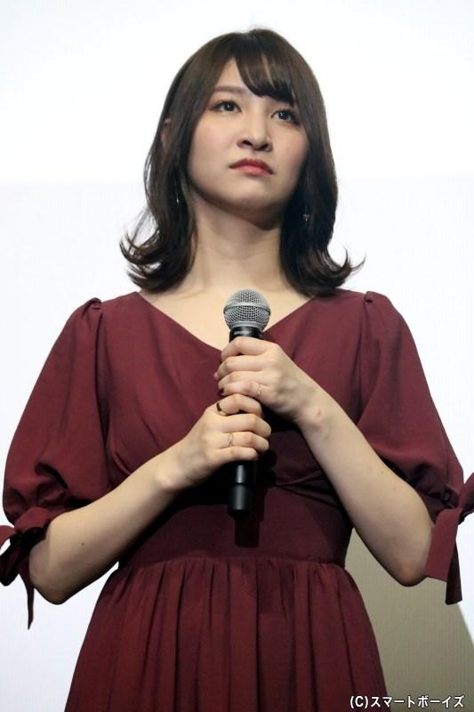 茨木童子役の今出舞さん