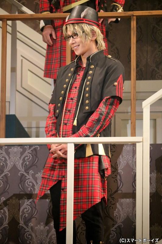 Six Gravity・弥生 春 役の松田 岳さん