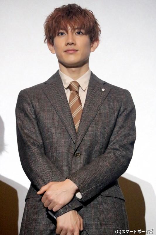 真北直史役の赤澤遼太郎さん