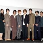 期待のキャストが集結、映画『先生から』公開記念舞台挨拶が開催