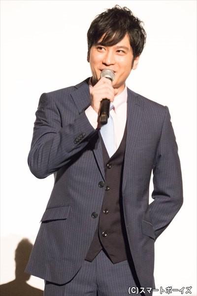 自称・公彦のライバル探偵で99連敗の男・志威志(こころざし つよし)/滝口幸広さん