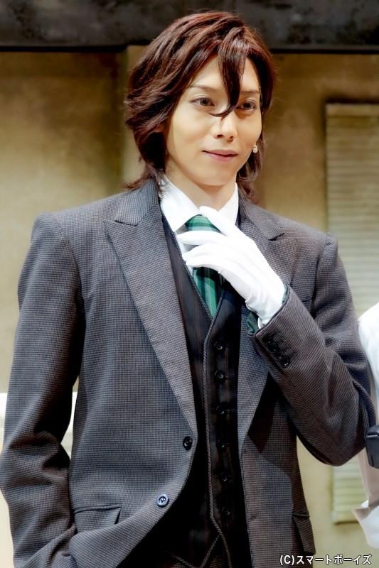 レイジ役の染谷俊之さん