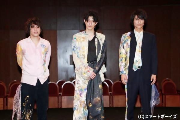 (左より)來河侑希さん、磯野大さん、栗田学武さん