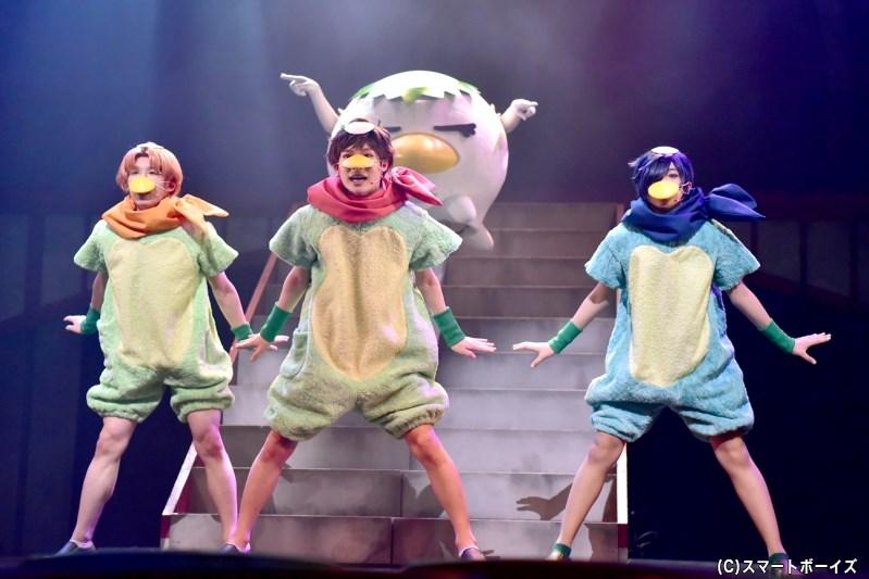 「さらに『さらざんまい』~愛と欲望のステージ~」開幕、舞台写真を速報UP!