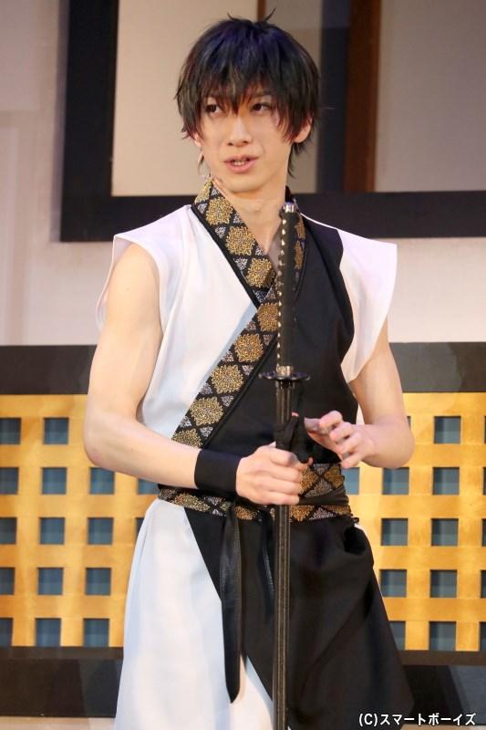 須貝 誠役の五十嵐拓人さん