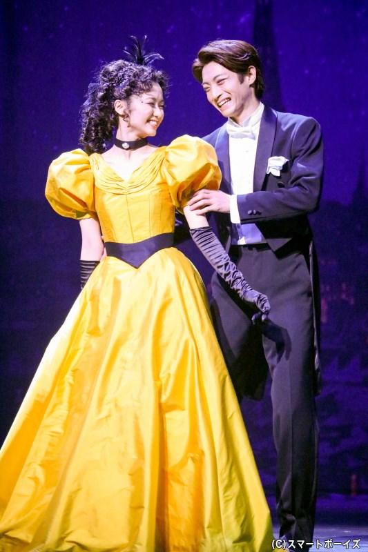 夢を掴んだクリスティーヌに、シャンドン伯爵は甘い恋心を告げる