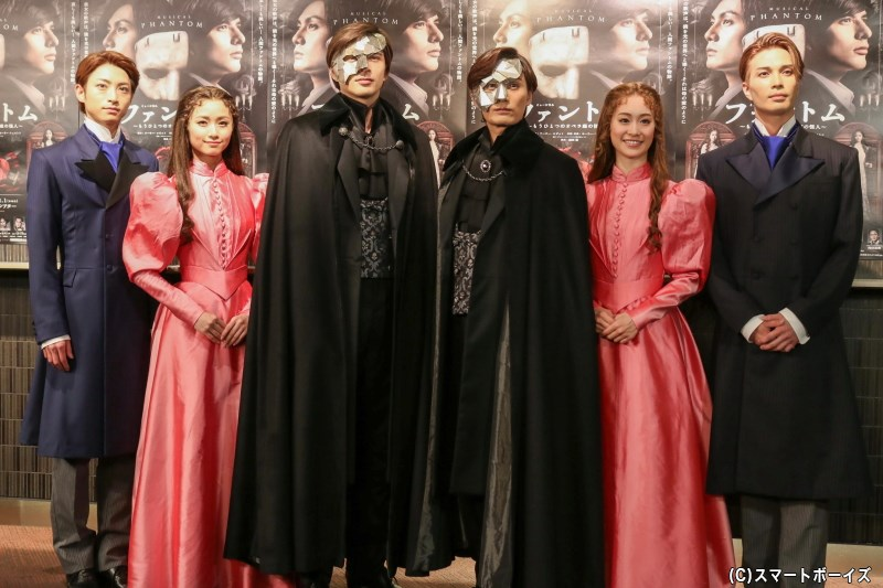 (左から)木村達成さん、木下晴香さん、城田 優さん、加藤和樹さん、愛希れいかさん、廣瀬友祐さん