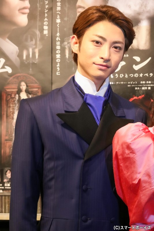 フィリップ・シャンドン伯爵役の木村達成さん