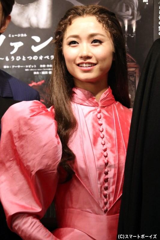 クリスティーヌ・ダーエ役の木下晴香さん