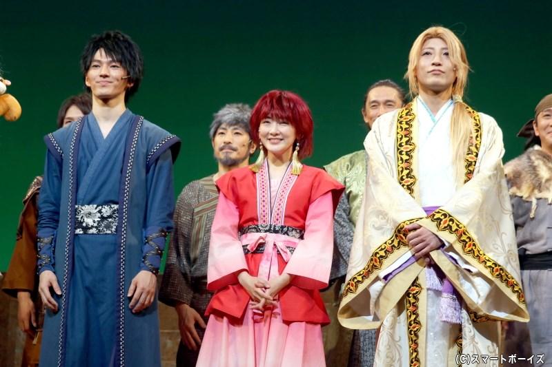 舞台『暁のヨナ』新作が11月16日より開幕! 舞台写真&囲み取材レポートを速報UP