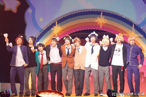 九州サンリオ男子が加わり、さらにキラキラ度UPの『サンリオ男子』が開幕!