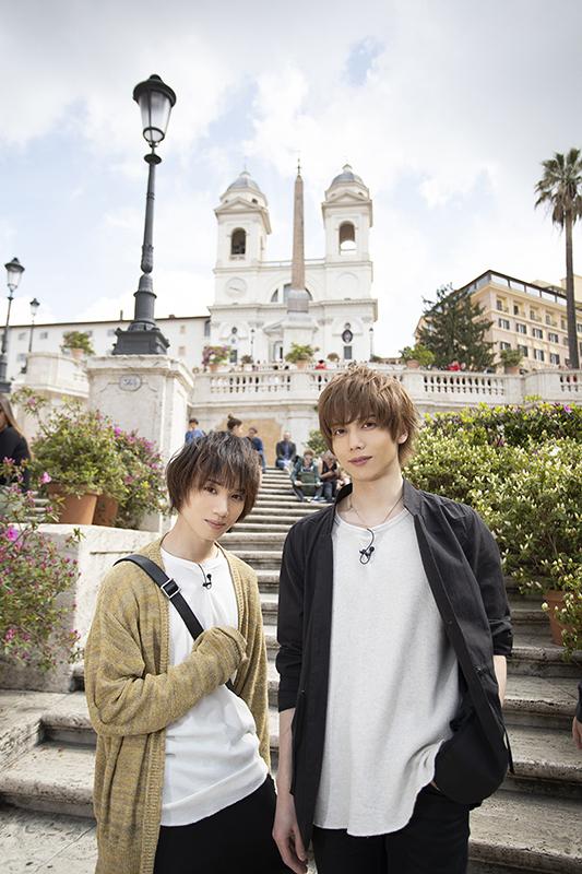 (左から)「イタリア編」より、植田圭輔さんと染谷俊之さん