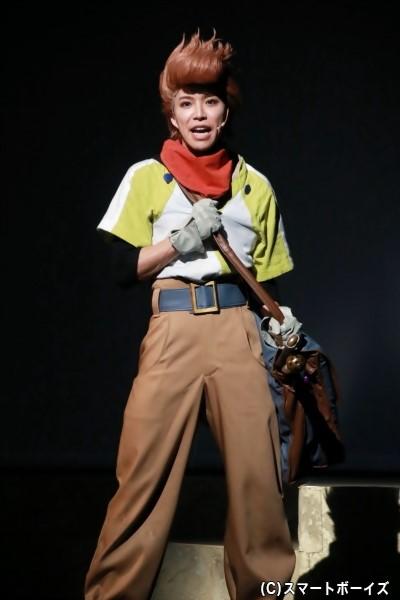 カロル・カペル役の北乃颯希さん