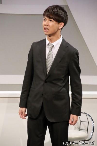 帯川悟役の橋本悟志さん