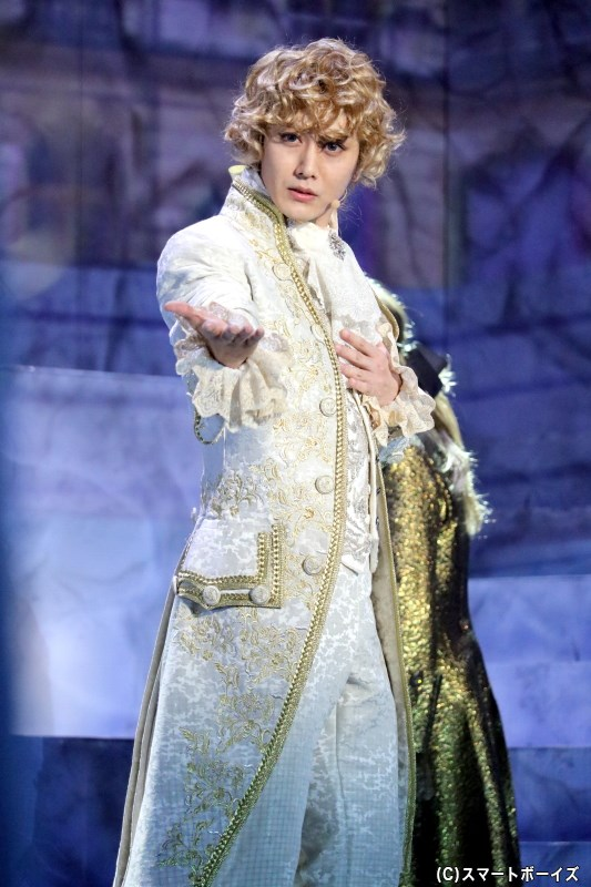 ルイ-オーギュスト(フランス国王ルイ16世)役の太田基裕さん