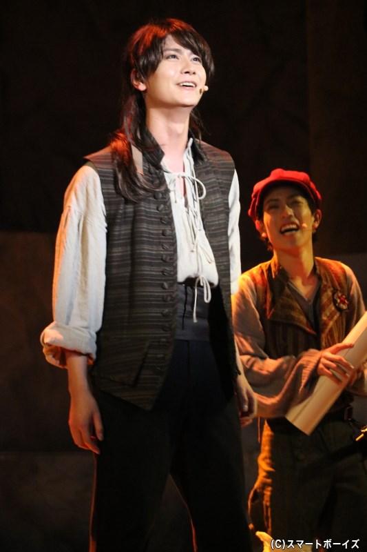 オリビエ・ルシャール役の多和田任益さん