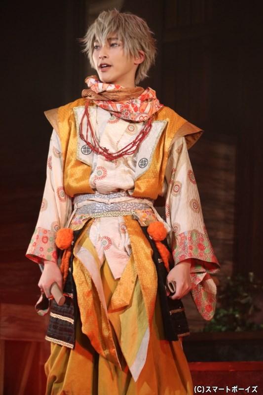 徳川家康役の木原瑠生さん