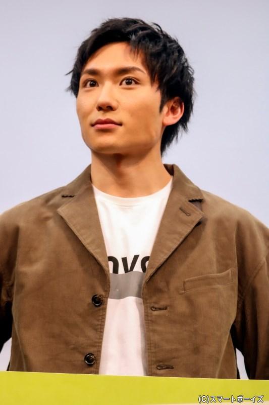 駆け出しの映画監督、荻原大輔役の日向野 祥さん