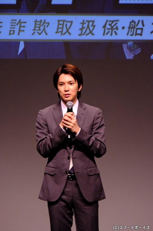 糸川さんは、リーダーらしくトークを引っ張りっつ、ところどころで「俺様感」を披露(笑)