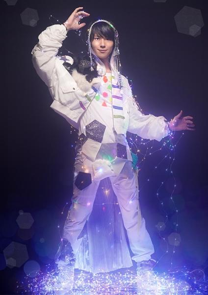 山崎さんが演じる「ガーシュウィン」のソロビジュアル