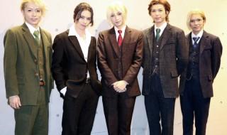 (左から)松井勇歩さん、北村 諒さん、荒牧慶彦さん、瀬戸祐介さん、糸川耀士郎さん