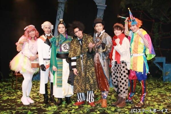 (左より)ロッキン=ヨーコさん、横井翔二郎さん、芹沢尚哉さん、古谷大和さん、東 拓海さん、廣野凌大さん、碕 理人さん