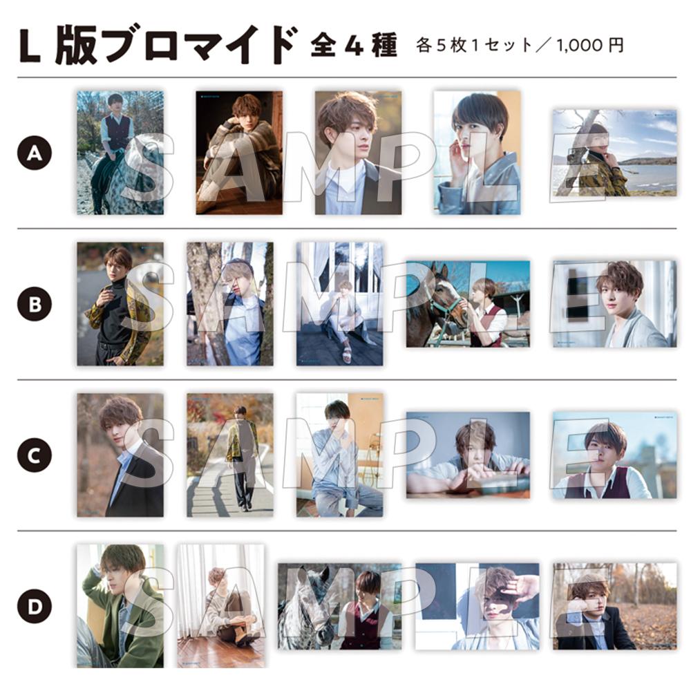L版ブロマイド 5枚1セット 各1,000円