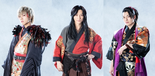 (左より)安井謙太郎さん、鈴木拡樹さん、崎山つばささん