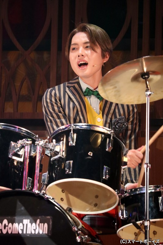 ドラム/ショウヘイ役の三原大樹さん