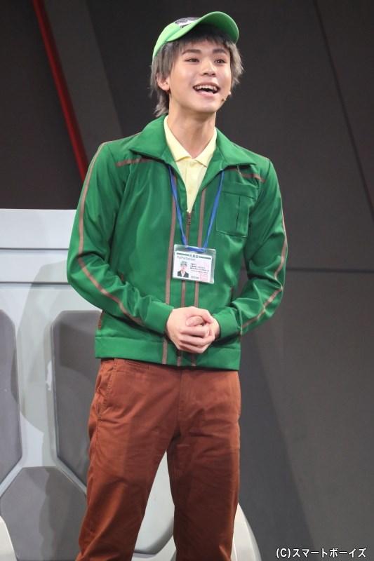 今作ストーリーのキーマン、生協の人役の三浦海里さん