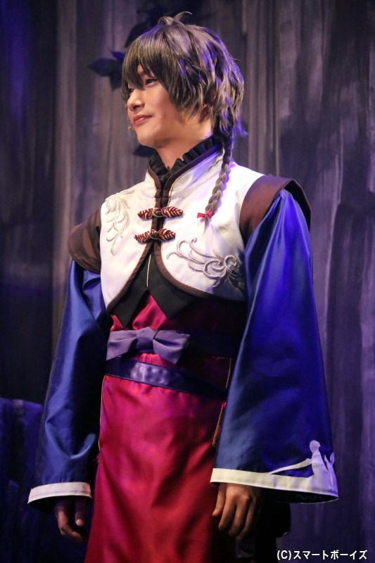 Procellarum・長月 夜 役の秋葉友佑さん