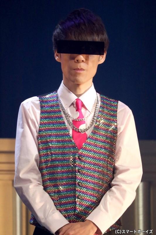 甘王 役の緒方雅史さん