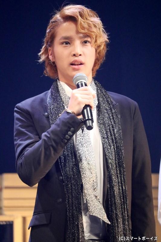 派手彦 役の上野貴博さん