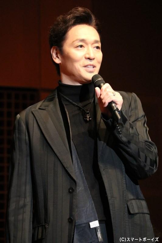 ロレンツォ・デ・メディチ役の今 拓哉さん