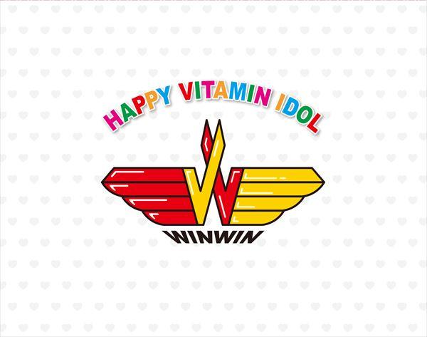 Blu-ray「ハッピー・ビタミンアイドル WINWIN」 ジャケット